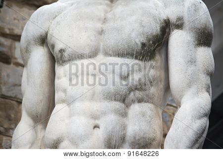 Chest Of Hercules Statue In Florence