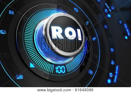 ROI Controller on Black Control Console.