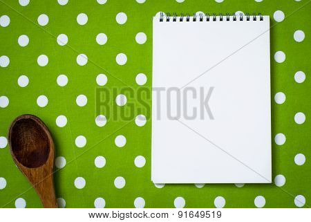 Cotton Tablecloth And Notepad