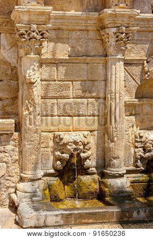 Rimondi Fountain. Rethymno. Crete, Greece