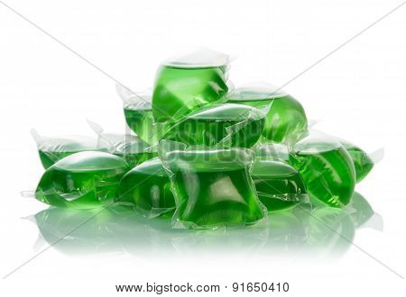 Green cleaner pouches