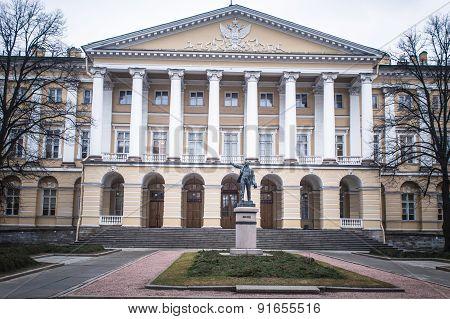 Smolni Institute in Saint Petersburg