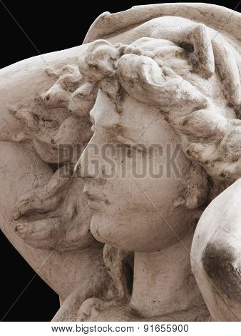 The Goddess Of Love Aphrodite (venus) Fragment Of Statue