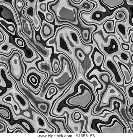 abstract black white seamless pattern psychedelic