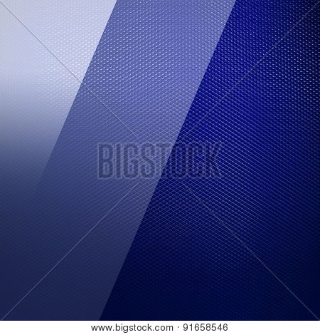 blue glasses on metal mesh background