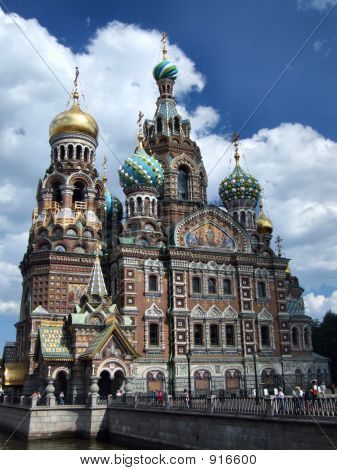 Famous russian landmark orthodox image photo bigstock for Famous landmarks in russia