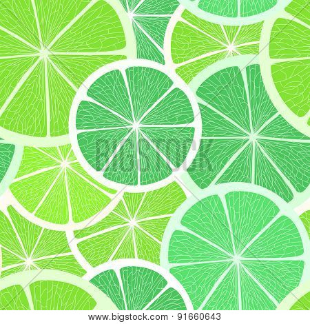 Lime background. Raster version