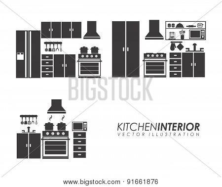 Appliances design over white background vector illustration