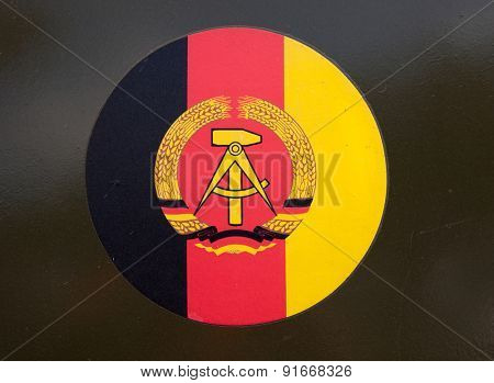 Emblem of of the GDR