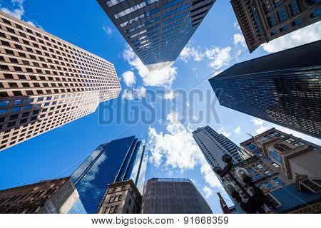 skyscraper view