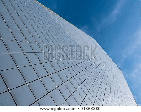 Abstract skyscraper wall