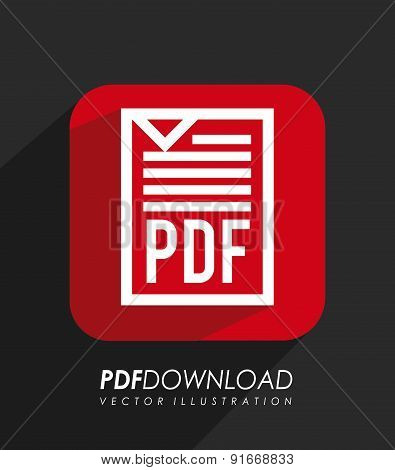 Download design over black background vector illustration