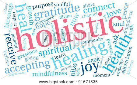 Holistic Word Cloud