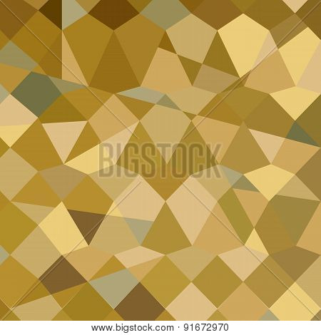 Drab Brown Abstract Low Polygon Background