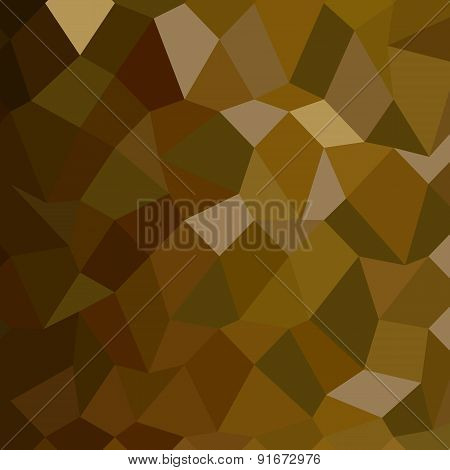 Olive Drab Abstract Low Polygon Background