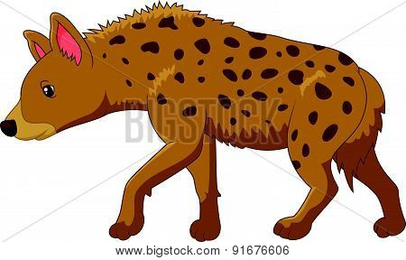 Cartoon a hyena