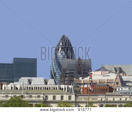 poster of City Of London Skyline
