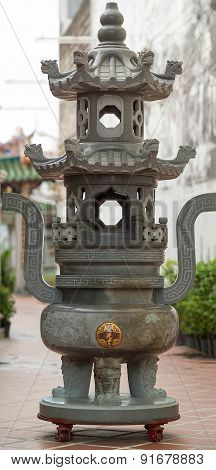 Chinese Temple Incense Burner