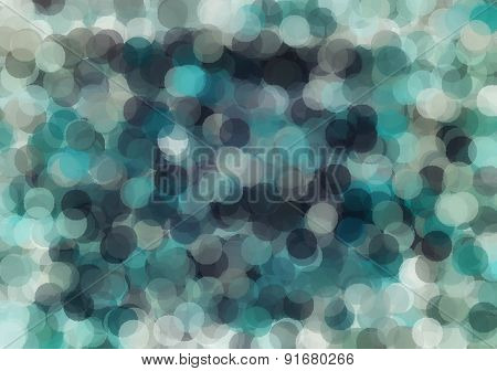 green and blue bokeh background