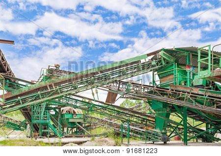 Plant For Gravel Extraction
