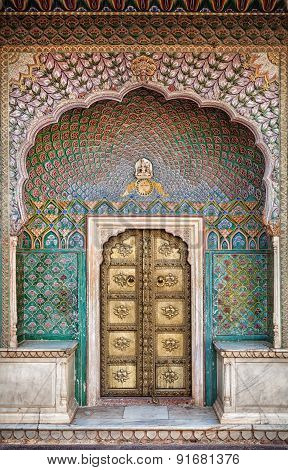 Rose Gate Door In Jaipur