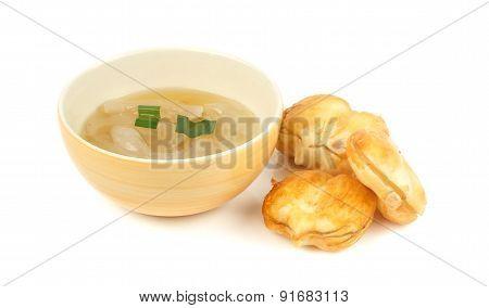 Thai Dessert - Toddy Palm In Syrup