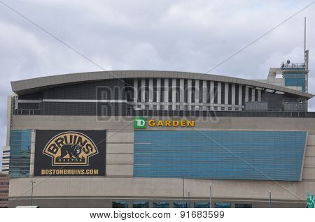 The TD Garden in Boston