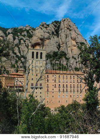 Dazzling views Mountain Montserrat Spain Barcelona