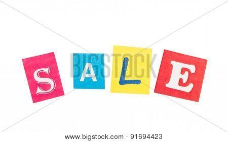 Multicolor Inscription Sale