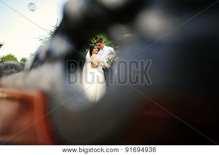 Wedding Couple In Love