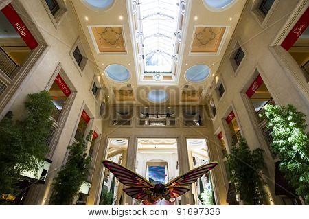 Interiors Of The Venetian Hotel, Las Vegas, Nevada