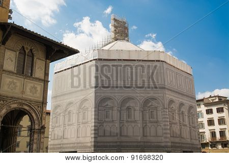 Restoration Of Monuments In Florence