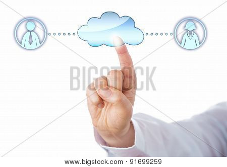 Contacting A Female And A Male Peer In The Cloud