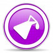 image of chemistry  - chemistry violet icon  - JPG