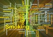 picture of billion  - Background concept wordcloud illustration of smoking glowing light - JPG