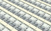 picture of yuan  - Yuan money bills stacks background - JPG