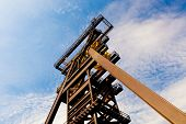 picture of  rig  - Miner oil rig tower - JPG