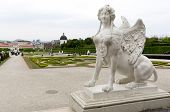 picture of palace  - The Belvedere is a historic building complex in Vienna Austria consisting of two Baroque palaces  - JPG