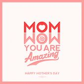 image of i love you mom  - Mom You Are Amazing - JPG
