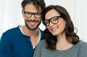 foto of spectacles  - Closeup of smiling couple wearing spectacle