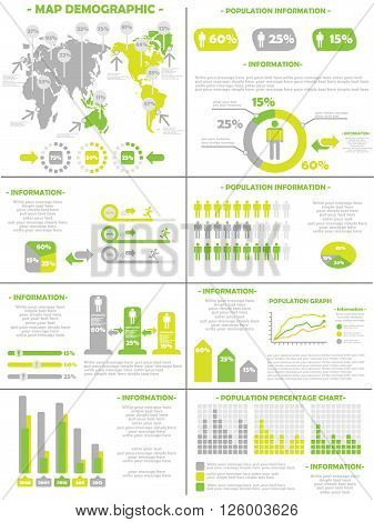 INFOGRAPHIC DEMOGRAPHICS POPULATION  YELLOW  for web and other