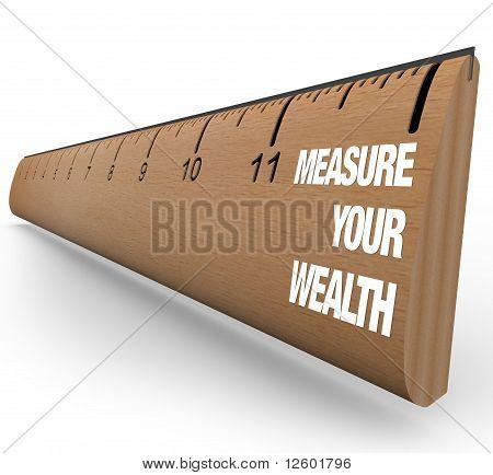 Régua - medida sua riqueza