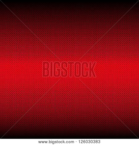 Abstract Geometrical Multicolored mosaic red Background with many polka-dots.