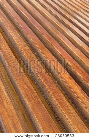 Design Of Wood Floor Texture Background, Wooden Stick Varnish Shiny For Decoration Interior