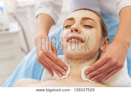 Woman At The Cosmetician