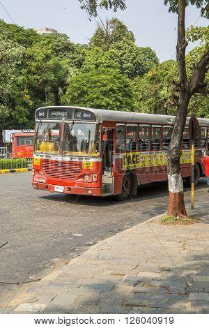 Bus In Mumbai, India