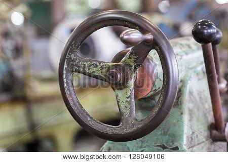 Adjustment Wheel Of Lathe Machine