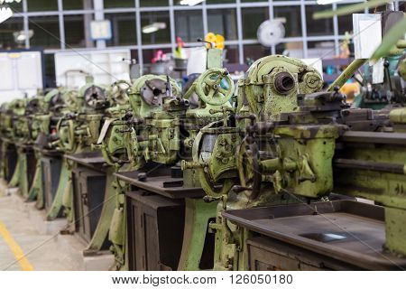 Old Lathe Machines