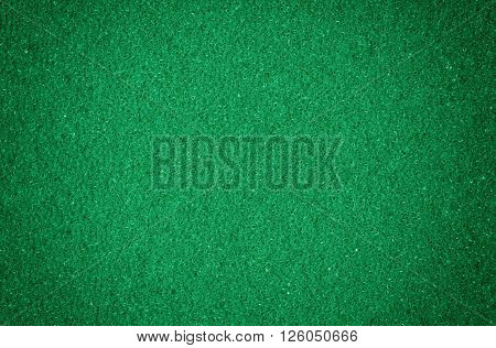 Green spongy macro texture background close up