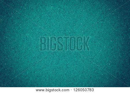 Blue spongy macro texture background close up